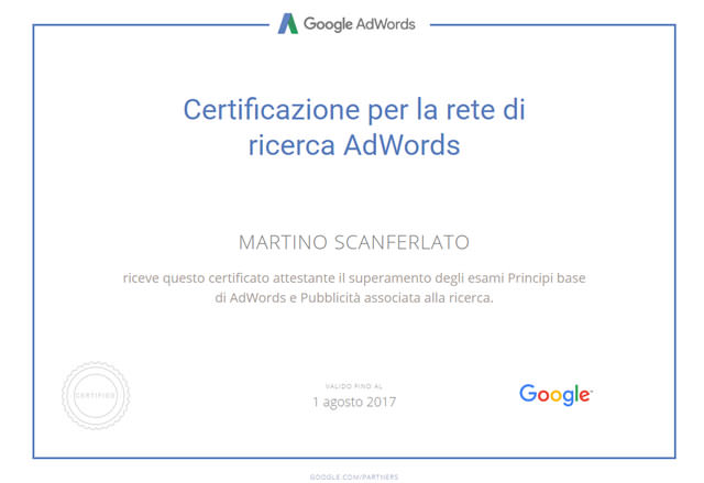 Martino Scanferlato Web e Social Media Marketing